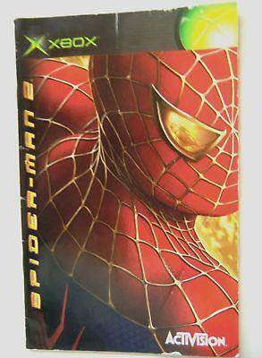 55864 Instruction Booklet - Spider-man 2 - Microsoft Xbox (2004)