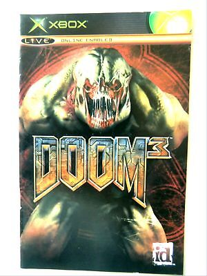 55874 Instruction Booklet - Doom 3 - Microsoft Xbox (2005)