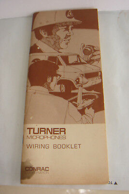 3 Vintage Microphone Books Radio Broadcasting Direction Rca 44 77. Vtg Turner Microphone Wiring Book Guide Cobra Midland Tram Cb Ham Radio. Wiring. Vintage Cb Radio Mic Wiring At Scoala.co