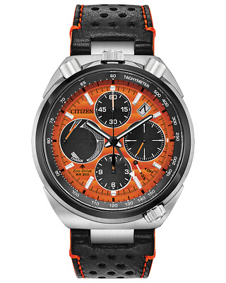 Citizen Eco Drive Leather Strap Chrono LIMITED EDITION Men's Watch AV0078-04X