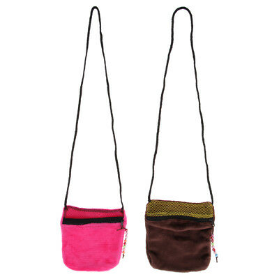 Warm And Comfortable Small Pet Animals Flannel Cozy Outdoor Handbag Carrier