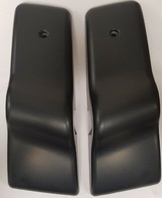 FREIGHTLINER Columbia Century Door Mirror Cover Bracket Black Pair RH LH NEW