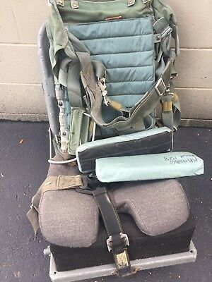 T-34 Ejection Seat and Training (Real) Parachute and Pads