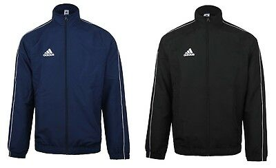Adidas Youth Core 18 PRE Training Navy Black Kid Soccer Jackets Shirts CE9044