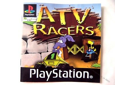 58521 Instruction Booklet - ATV Racers - Sony Playstation 1 (2003) SLES 04059
