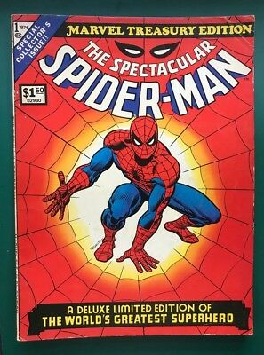 Marvel Treasury Edition #1 The Spectacular Spiderman VG/VG+ condition