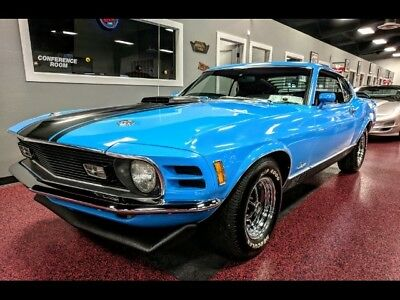 1970 Mustang Mach 1 1970 Ford Mustang Mach 1 Automatic 351 NUMBERS MATCHING MARTI REPORT