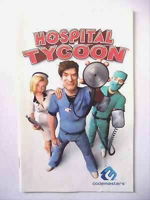 49864 Instruction Booklet - Hospital Tycoon - PC (2006)