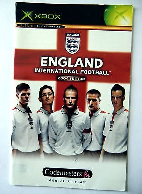 49686 Instruction Booklet - England International Football 2004 Edition - Micros