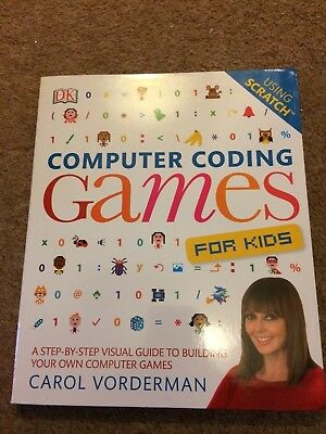 Computer coding Games for kids using Scratch - Carol Vorderman