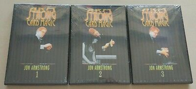 Jon Armstrong Card Magic Strongest Card Tricks Effect 3 DVD to amaze Any Gals
