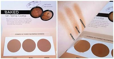 Younique Beachfront Bronzer in Sunset Malibu Hermosa Sample Card Try It Now!