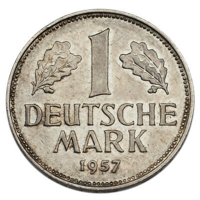 1957-D Germany Federal Republic Mark (XF Condition) KM# 110