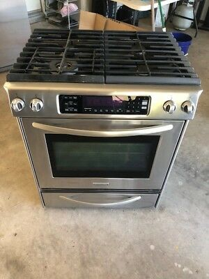 Kitchenaid 5 Burner 6 5 Cu Ft Self Cleaning Slide In Convection Gas