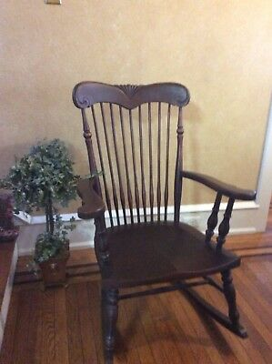 Vintage Victorian Rocking Chair