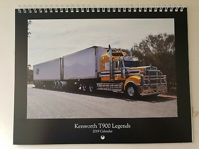 Kenworth T900 Legends - 2019 Calendar