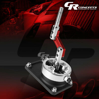 Aluminum Manual Racing Sport Short Quick Shifter Red For 83-04 Ford Mustang W/Od