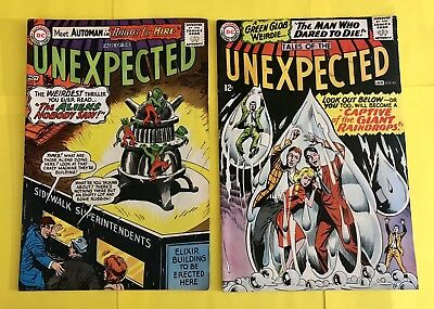 Tales Of The Unexpected #91 (1965) & #92 (1966) DC Comics