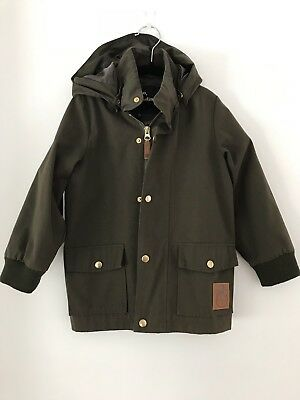Mini Rodini Green Pico Jacket Sz 104/110 (3-5yrs)