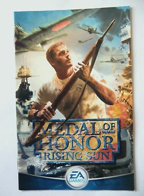 52497 Instruction Booklet - Medal Of Honor Rising Sun - Sony Playstation 2 (2003