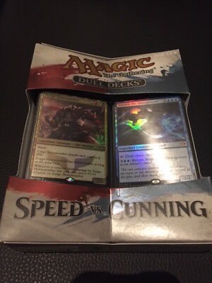 Magic the Gathering Duel Deck Speed vs. Cunning - OVP - Neuware - sealed
