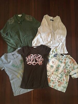 Women's Assorted Bundle of Shirts Sportsgirl, Roxy, Rip Curl etc.