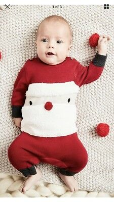 baby christmas santa outfit, bnwt 3-6 months from Next Brand New