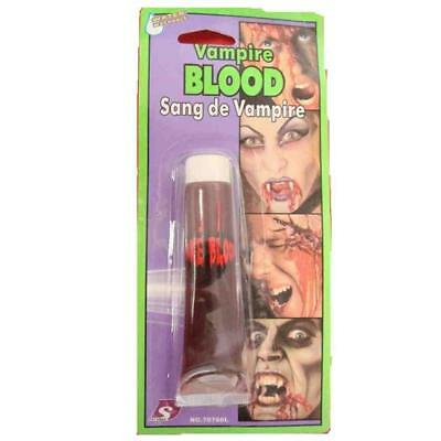 Fake Blood Halloween Horror Theatrical Fancy Dress Vampire Zombie Make Up