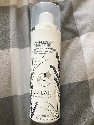 Liz Earle Cleanse And Polish Lavender And Vetiver 150ml BRAND NEW