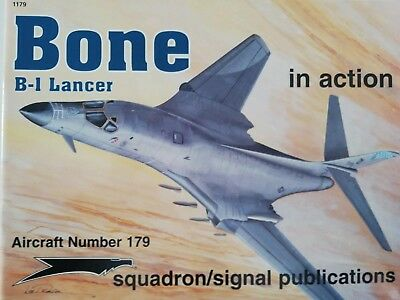 Squadron Signal 1179 - Bone B1 Lance in Action - Softcover -