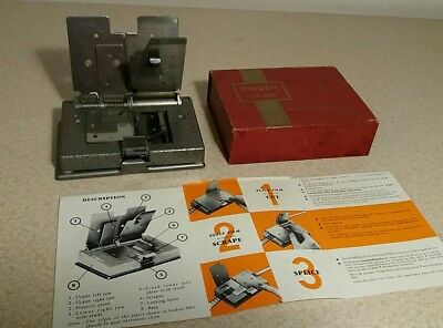 Muray CA 816 Cine Film Splicer, quality heavy duty with raised cast lettering