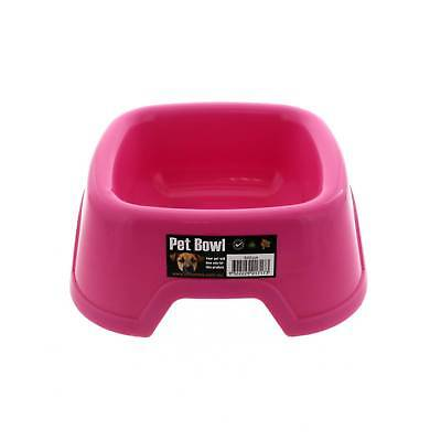 K9 Homes Plastic Small Bowl Pink Tough Durable Easy To Clean Convenient