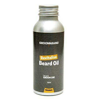 Groomarang Beard Oil 100ml Moisturising Conditioning Men's Grooming Stop Itching