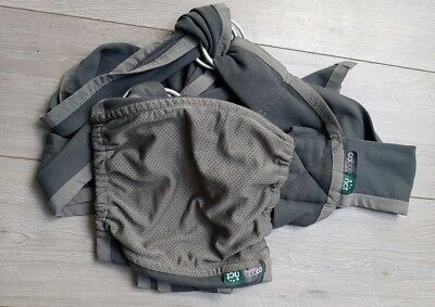 Close caboo, stretchy baby carrier / sling -  organic cotton. Newborn, 0-6months