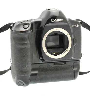 Canon EOS 1N 35mm SLR Film Camera Body and Canon E1 Battery Grip Only - EOS-1N