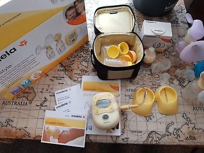 Medela Freestyle Double Electric 2-phase Breast Pump - double efficiency!