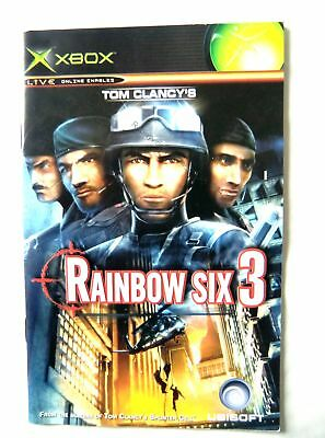 56429 Instruction Booklet - Rainbow Six 3 - Microsoft Xbox (2003)