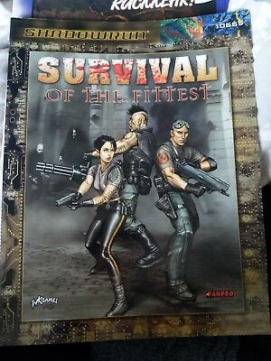 Survival of the fittest Shadowrun 3rd Edition Englisch