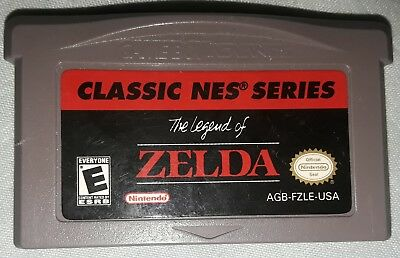 The Legend of Zelda Game Boy Advance Classic NES series Cart Only tested, works!