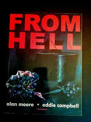 From Hell Graphic Novel By Alan Moore & Eddie Campbell (Jack the Ripper Mystery)