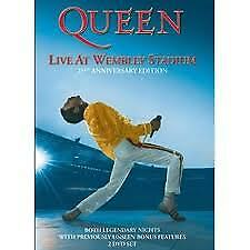 "DVD QUEEN ""LIVE AT WEMBLEY STADIUM 25TH ANNIVERSARY EDITION"". Nuevo y precintado"