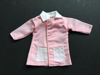 Doll clothes pink jacket shirt top white pockets fit Sindy Barbie SHIMMYSHIM