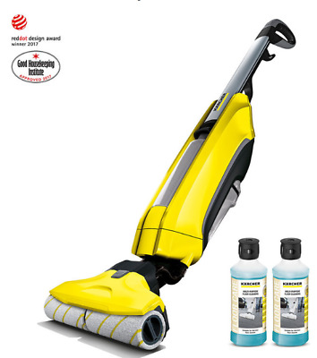 Karcher FC5 Hard Floor Cleaner with 2 x 500ml Detergent-Brand New