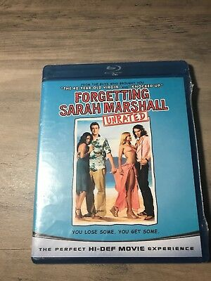 Forgetting Sarah Marshall 2008 Like New Blu Ray Dvd Jason Segel