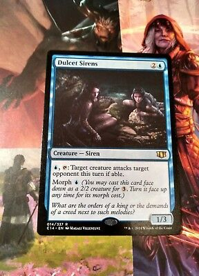 RARE mtg DULCET SIRENS 014/337 Commander 2014 C14 Magic the Gathering NEW