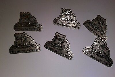 6 RMEF Rocky Mountain Elk Foundation 2014  COMMITTEE PINS