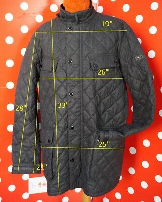 360$ new Barbour International Alodoth Quilted 2XL Motorcycle Jacket men