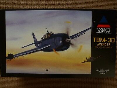 TBM-3D Avenger 1:48 ACCURATE MINIATURES