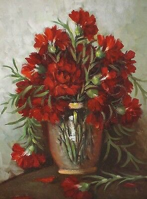 Signed G Ra? - Still Life with Flowers