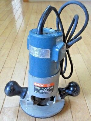 BOSCH No. 1604 Router - 10A, 115V, 25000 RPM - Made in U.S.A.